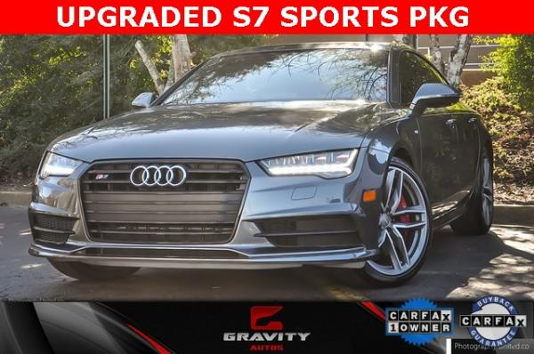 Used 2017 Audi S7 4.0T Premium Plus for sale $44,995 at Gravity Autos in Roswell GA