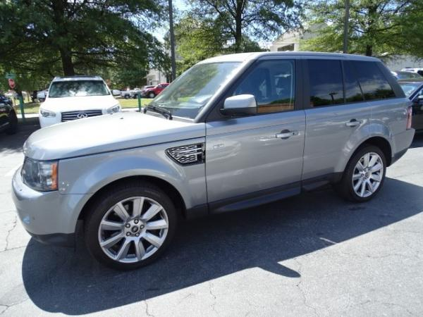 Used 2013 Land Rover Range Rover Sport HSE LUX for sale Sold at Gravity Autos in Roswell GA 30076 2