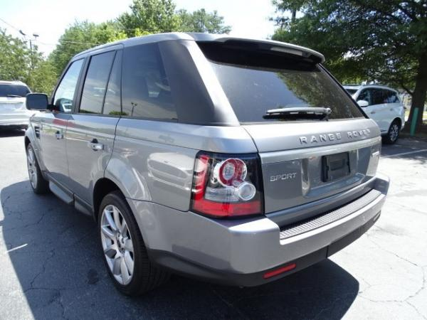 Used 2013 Land Rover Range Rover Sport HSE LUX for sale Sold at Gravity Autos in Roswell GA 30076 3