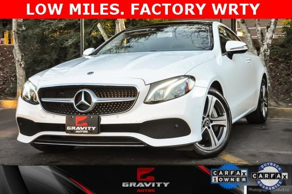 Used 2018 Mercedes-Benz E-Class E 400 for sale $40,495 at Gravity Autos in Roswell GA