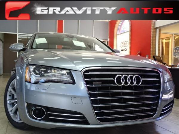 Used 2011 Audi A8 for sale Sold at Gravity Autos in Roswell GA 30076 1