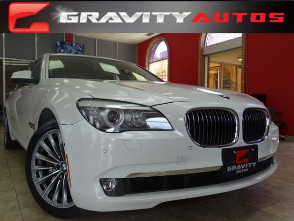 Used 2012 BMW 7 Series 750Li for sale Sold at Gravity Autos in Roswell GA 30076 1