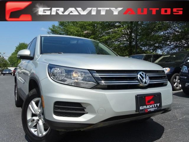 Used 2013 Volkswagen Tiguan S w/Sunroof for sale Sold at Gravity Autos in Roswell GA 30076 1