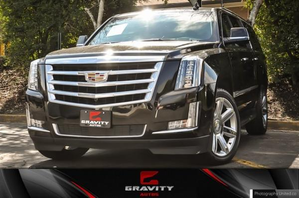 Used 2020 Cadillac Escalade ESV Premium for sale $63,495 at Gravity Autos in Roswell GA