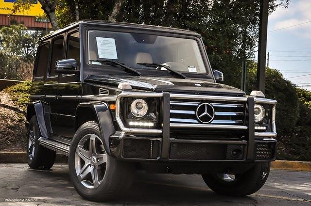 Used 2017 Mercedes-Benz G-Class G 550 for sale Sold at Gravity Autos Atlanta in Chamblee GA 30341 2