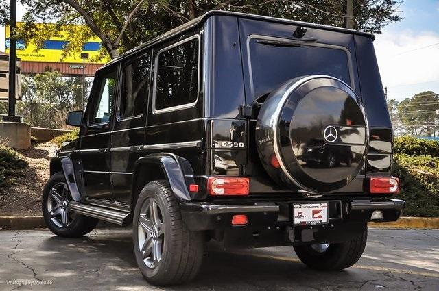 Used 2017 Mercedes-Benz G-Class G 550 for sale Sold at Gravity Autos Atlanta in Chamblee GA 30341 3