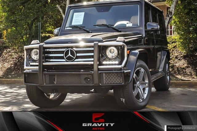 Used 2017 Mercedes-Benz G-Class G 550 for sale Sold at Gravity Autos Atlanta in Chamblee GA 30341 1