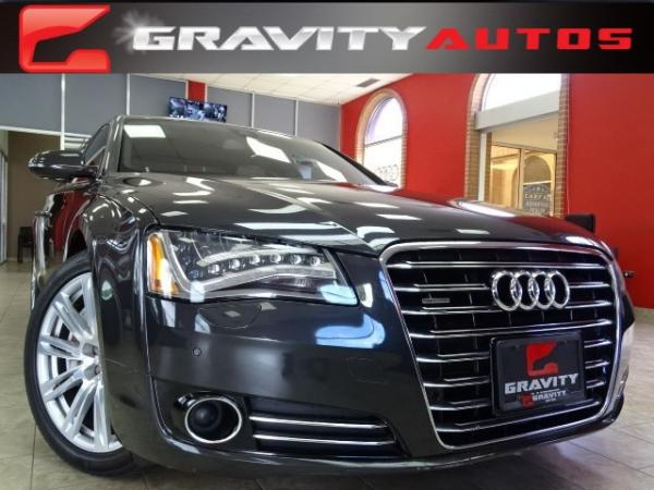 Used 2011 Audi A8 quattro for sale Sold at Gravity Autos in Roswell GA 30076 1