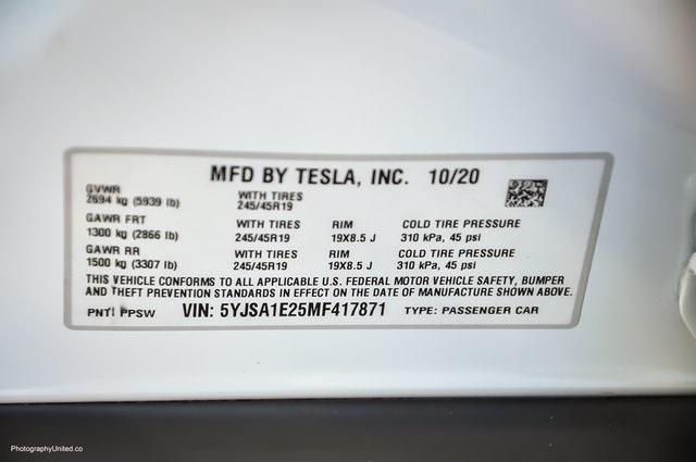 Used 2021 Tesla Model S Long Range for sale Sold at Gravity Autos Atlanta in Chamblee GA 30341 31