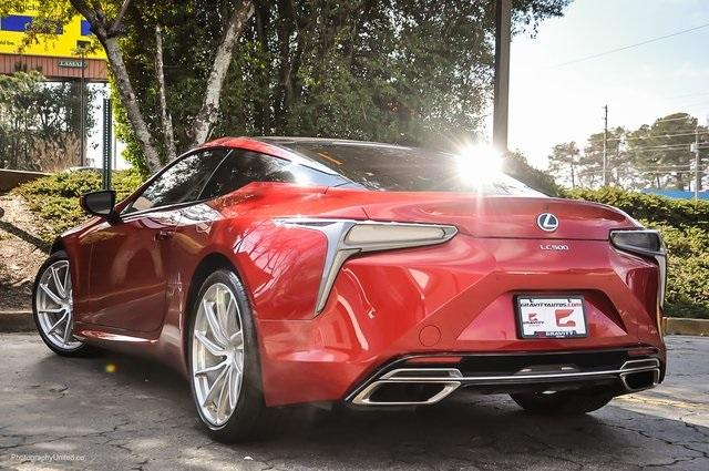 Used 2018 Lexus LC 500 for sale Sold at Gravity Autos Atlanta in Chamblee GA 30341 3