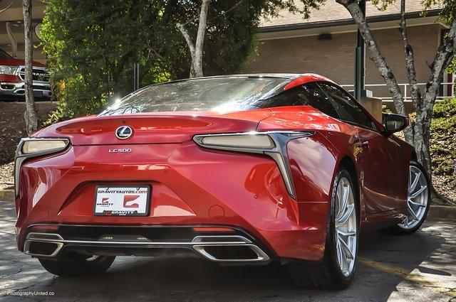 Used 2018 Lexus LC 500 for sale Sold at Gravity Autos Atlanta in Chamblee GA 30341 4