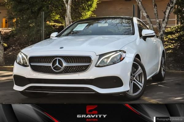 Used 2018 Mercedes-Benz E-Class E 400 for sale $39,899 at Gravity Autos in Roswell GA