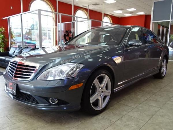 Used 2009 Mercedes-Benz S-Class 5.5L V8 for sale Sold at Gravity Autos in Roswell GA 30076 3