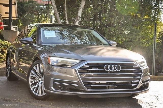 Used 2019 Audi A8 L 55 for sale Sold at Gravity Autos Atlanta in Chamblee GA 30341 2