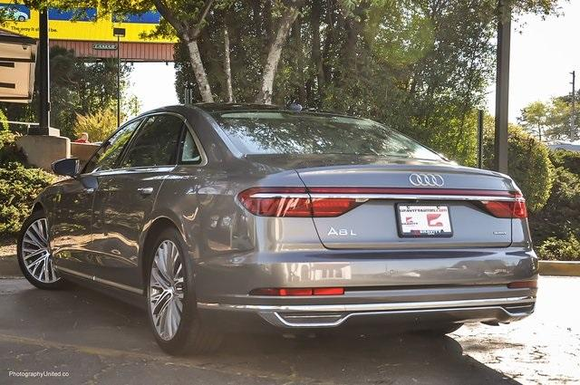 Used 2019 Audi A8 L 55 for sale Sold at Gravity Autos Atlanta in Chamblee GA 30341 3