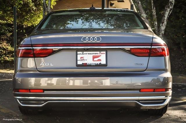 Used 2019 Audi A8 L 55 for sale Sold at Gravity Autos Atlanta in Chamblee GA 30341 5