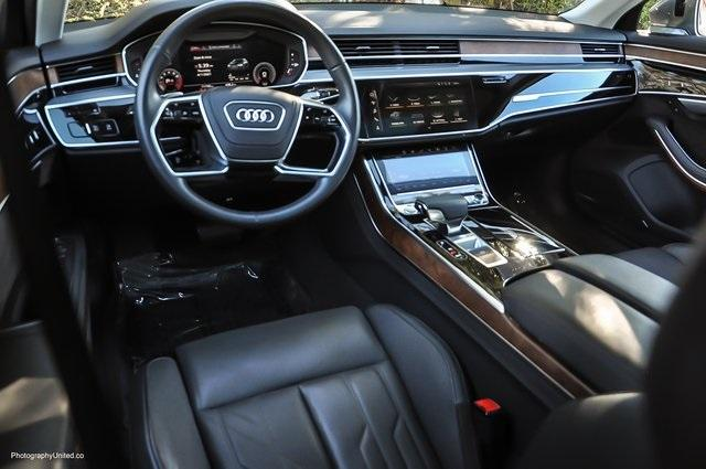 Used 2019 Audi A8 L 55 for sale Sold at Gravity Autos Atlanta in Chamblee GA 30341 7