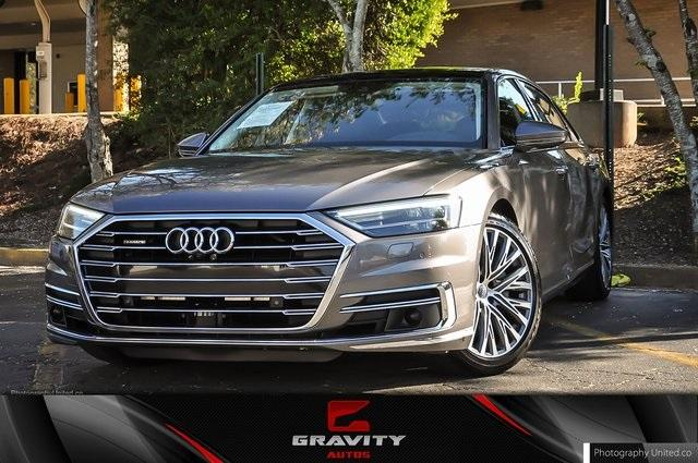 Used 2019 Audi A8 L 55 for sale Sold at Gravity Autos Atlanta in Chamblee GA 30341 1