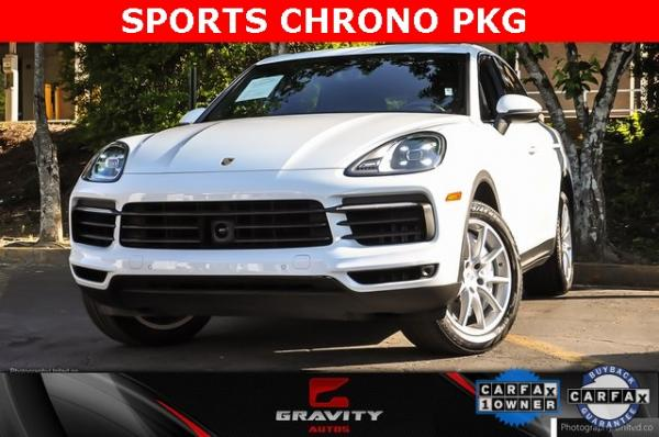Used Used 2019 Porsche Cayenne Base for sale $65,795 at Gravity Autos Atlanta in Chamblee GA