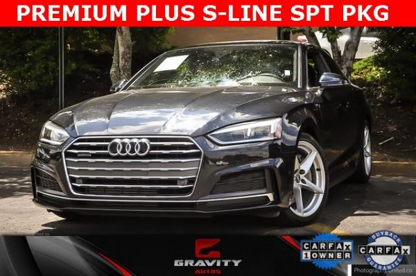 Used Used 2018 Audi A5 2.0T Premium Plus for sale $32,295 at Gravity Autos Atlanta in Chamblee GA