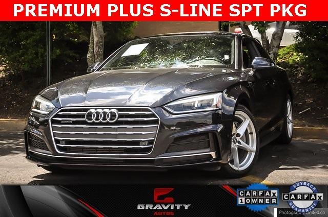 Used 2018 Audi A5 2.0T Premium Plus for sale $32,495 at Gravity Autos Atlanta in Chamblee GA 30341 1