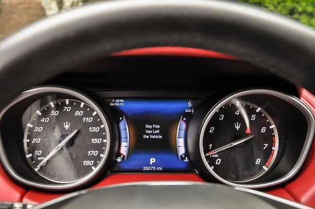Used 2017 Maserati Levante S for sale Sold at Gravity Autos Atlanta in Chamblee GA 30341 12