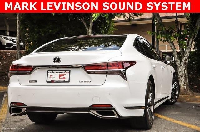 Used 2018 Lexus LS 500 F Sport for sale $60,695 at Gravity Autos Atlanta in Chamblee GA 30341 4