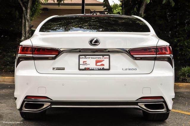 Used 2018 Lexus LS 500 F Sport for sale $60,695 at Gravity Autos Atlanta in Chamblee GA 30341 5