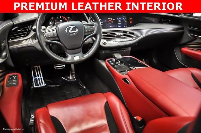 Used 2018 Lexus LS 500 F Sport for sale $60,695 at Gravity Autos Atlanta in Chamblee GA 30341 7