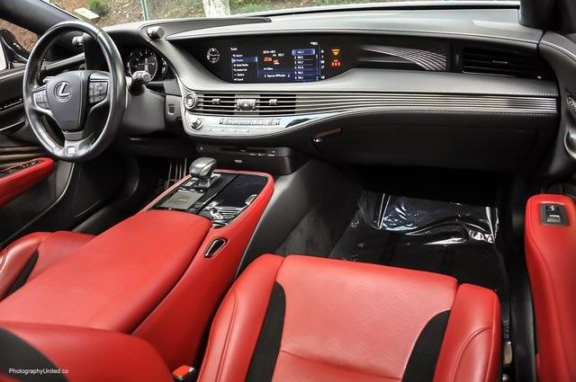 Used 2018 Lexus LS 500 F Sport for sale $60,695 at Gravity Autos Atlanta in Chamblee GA 30341 8