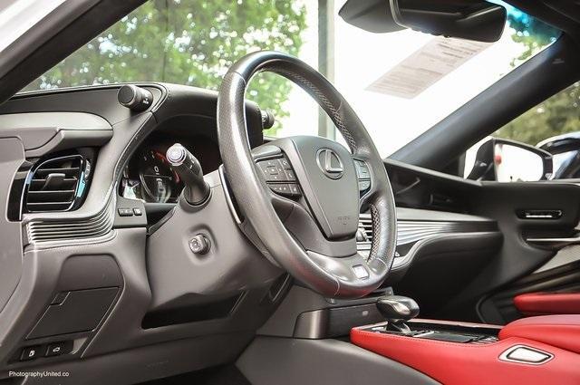 Used 2018 Lexus LS 500 F Sport for sale $60,695 at Gravity Autos Atlanta in Chamblee GA 30341 9