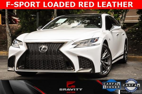 Used Used 2018 Lexus LS 500 F Sport for sale $60,695 at Gravity Autos Atlanta in Chamblee GA