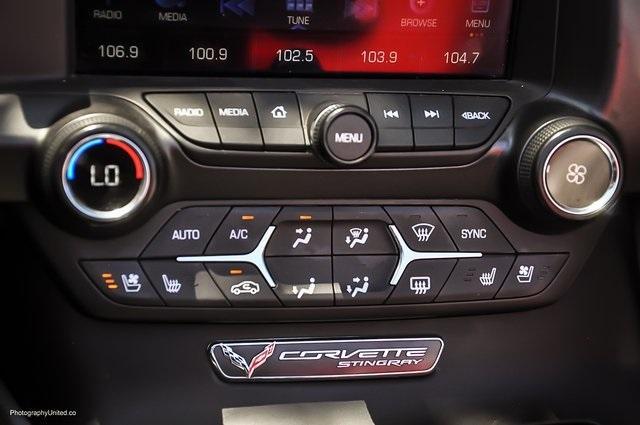 Used 2017 Chevrolet Corvette Stingray for sale Sold at Gravity Autos Atlanta in Chamblee GA 30341 17