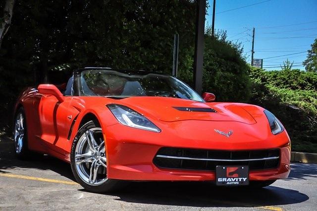 Used 2017 Chevrolet Corvette Stingray for sale Sold at Gravity Autos Atlanta in Chamblee GA 30341 2