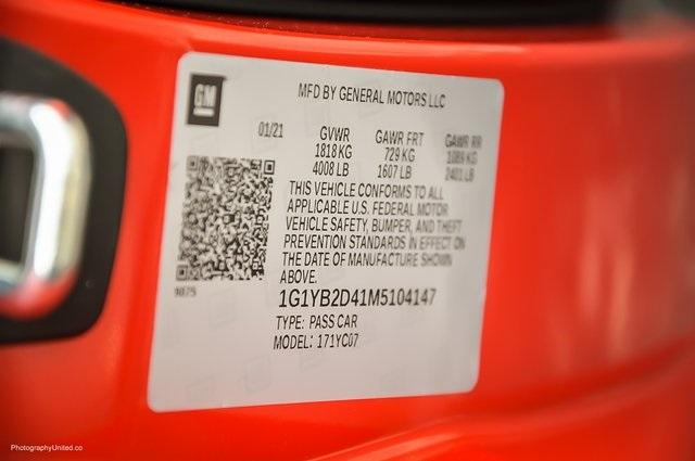 Used 2021 Chevrolet Corvette Stingray for sale Sold at Gravity Autos Atlanta in Chamblee GA 30341 31