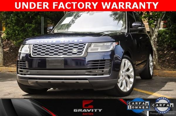Used Used 2018 Land Rover Range Rover 3.0L V6 Supercharged HSE for sale $71,490 at Gravity Autos Atlanta in Chamblee GA