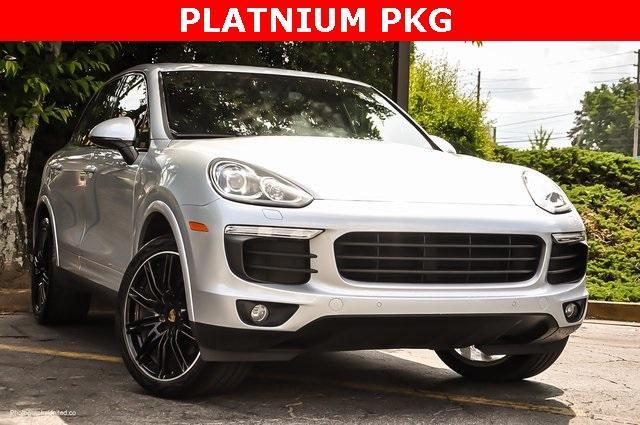 Used 2018 Porsche Cayenne Platinum Edition for sale $47,900 at Gravity Autos Atlanta in Chamblee GA 30341 2