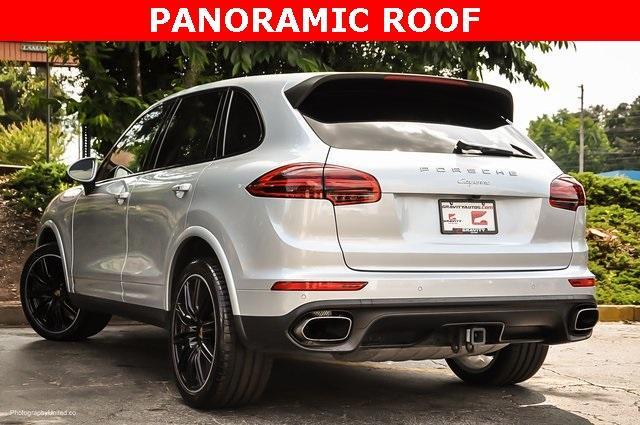Used 2018 Porsche Cayenne Platinum Edition for sale $47,900 at Gravity Autos Atlanta in Chamblee GA 30341 3