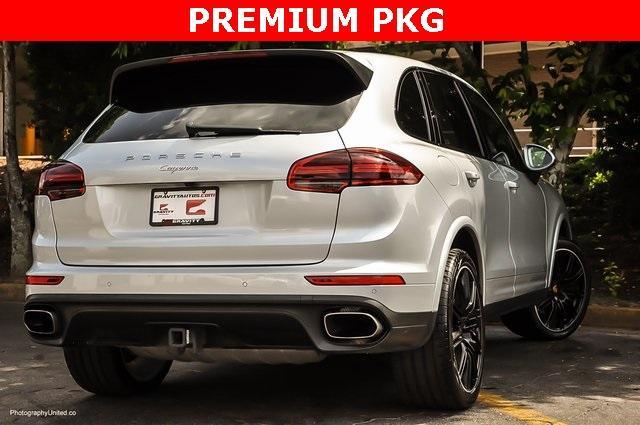 Used 2018 Porsche Cayenne Platinum Edition for sale $47,900 at Gravity Autos Atlanta in Chamblee GA 30341 4