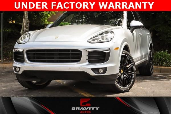 Used Used 2018 Porsche Cayenne Platinum Edition for sale $47,900 at Gravity Autos Atlanta in Chamblee GA