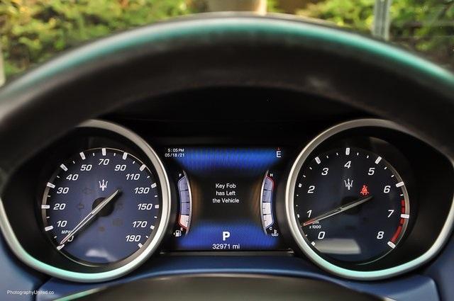 Used 2017 Maserati Ghibli Base for sale Sold at Gravity Autos Atlanta in Chamblee GA 30341 11