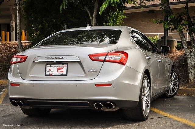 Used 2017 Maserati Ghibli Base for sale Sold at Gravity Autos Atlanta in Chamblee GA 30341 4