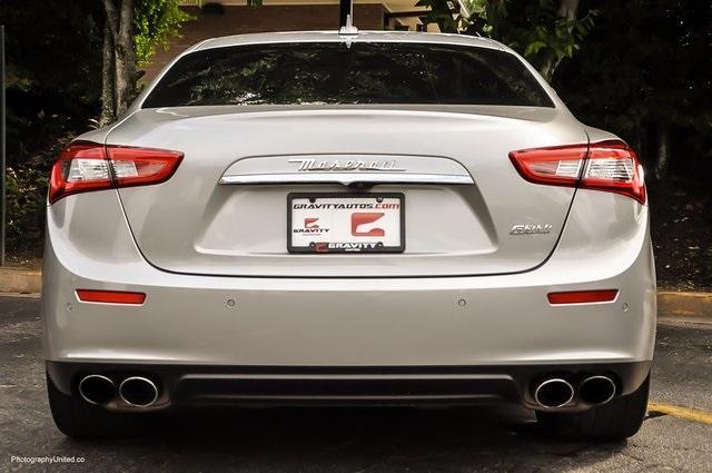 Used 2017 Maserati Ghibli Base for sale Sold at Gravity Autos Atlanta in Chamblee GA 30341 5