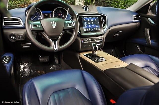 Used 2017 Maserati Ghibli Base for sale Sold at Gravity Autos Atlanta in Chamblee GA 30341 7