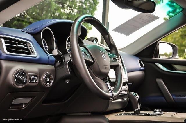Used 2017 Maserati Ghibli Base for sale Sold at Gravity Autos Atlanta in Chamblee GA 30341 9