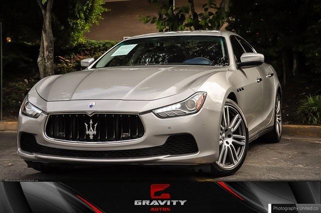 Used 2017 Maserati Ghibli Base for sale Sold at Gravity Autos Atlanta in Chamblee GA 30341 1