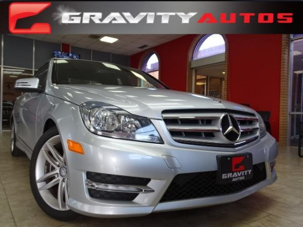 Used 2012 Mercedes-Benz C-Class C300 Sport for sale Sold at Gravity Autos in Roswell GA 30076 1