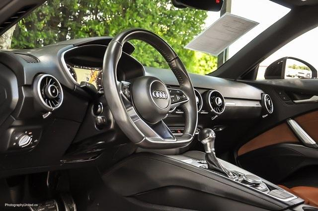 Used 2017 Audi TT 2.0T for sale Sold at Gravity Autos Atlanta in Chamblee GA 30341 9