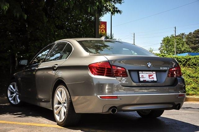 Used 2015 BMW 5 Series 535i for sale Sold at Gravity Autos Atlanta in Chamblee GA 30341 3