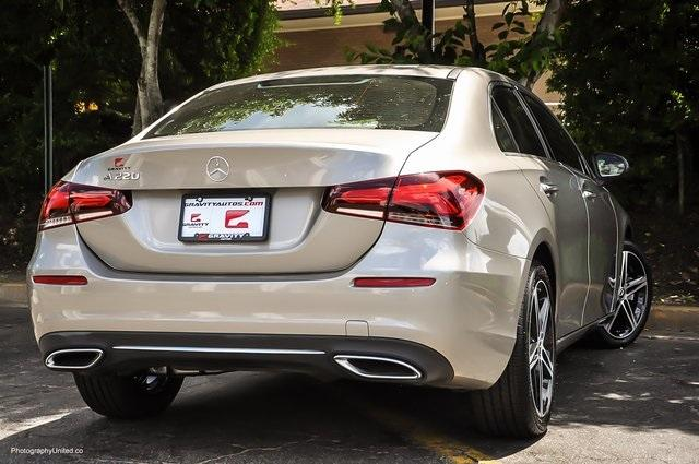 Used 2020 Mercedes-Benz A-Class A 220 for sale $34,995 at Gravity Autos Atlanta in Chamblee GA 30341 4